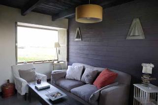 salon d hiver, maison en Bretagne photo Marie-Jose JARRY - stylisme Patricia PRIOTON