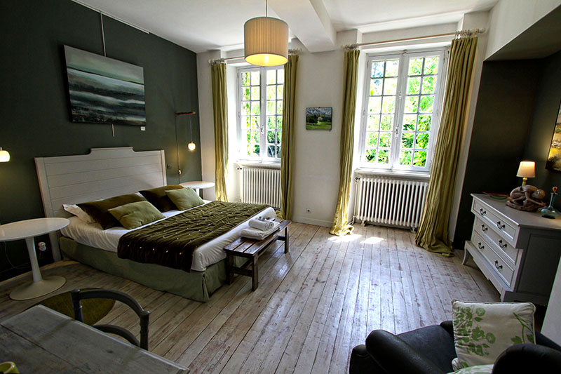 Photo 2 chambre Verte La Haute Flourie