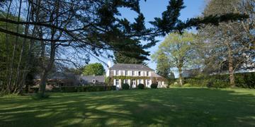 maison et le parc