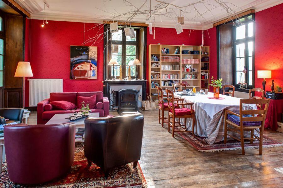 Chateau du pin salle à manger