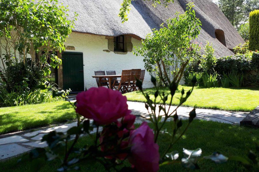 Gîte La Chaumière le jardin