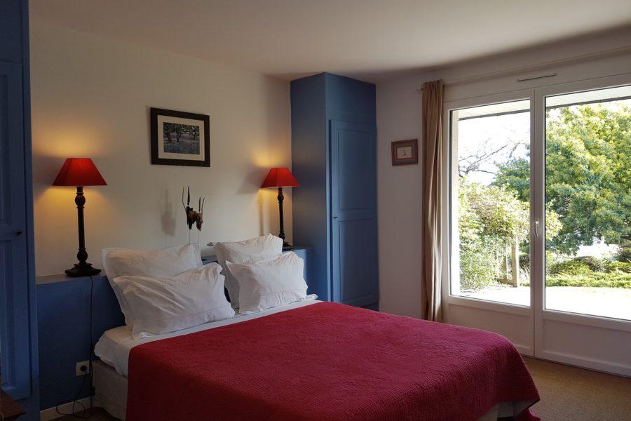 L_Arbre Voyageur maison d_hôtes 3 -chambre double Bois Flotté avec terrasse