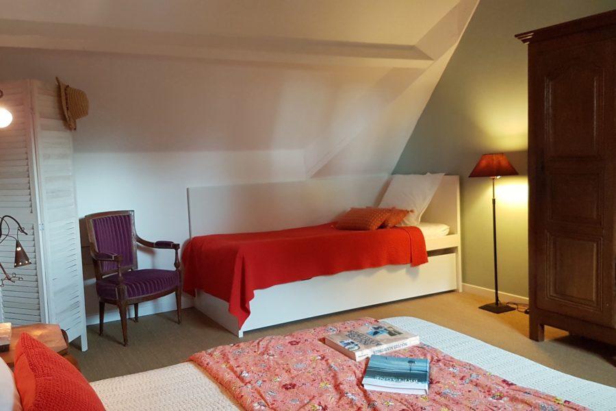 L_Arbre Voyageur maison d_hôtes 6 -chambre familiale Fleur d_Oranger lit gigogne