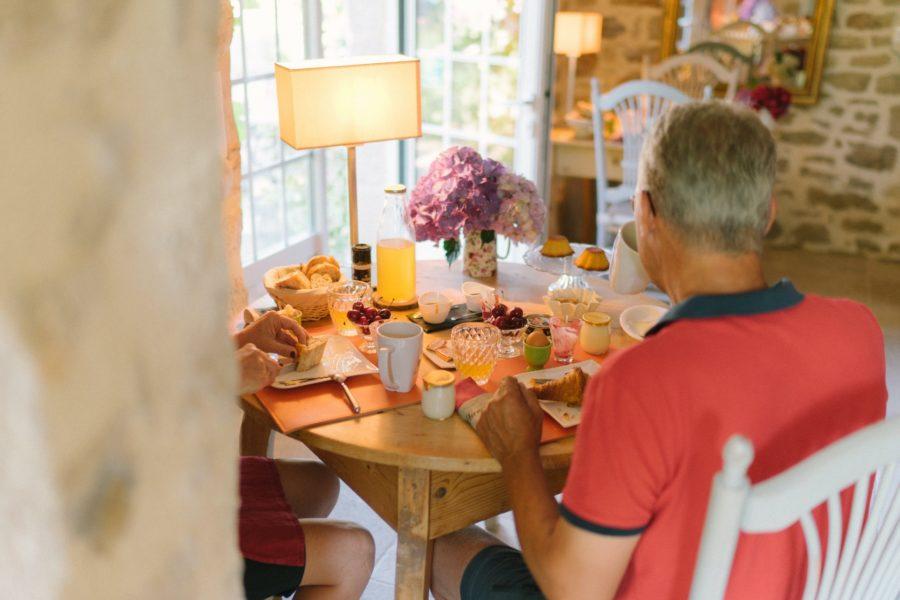 La Ferme de Kerscuntec Petit déjeuner