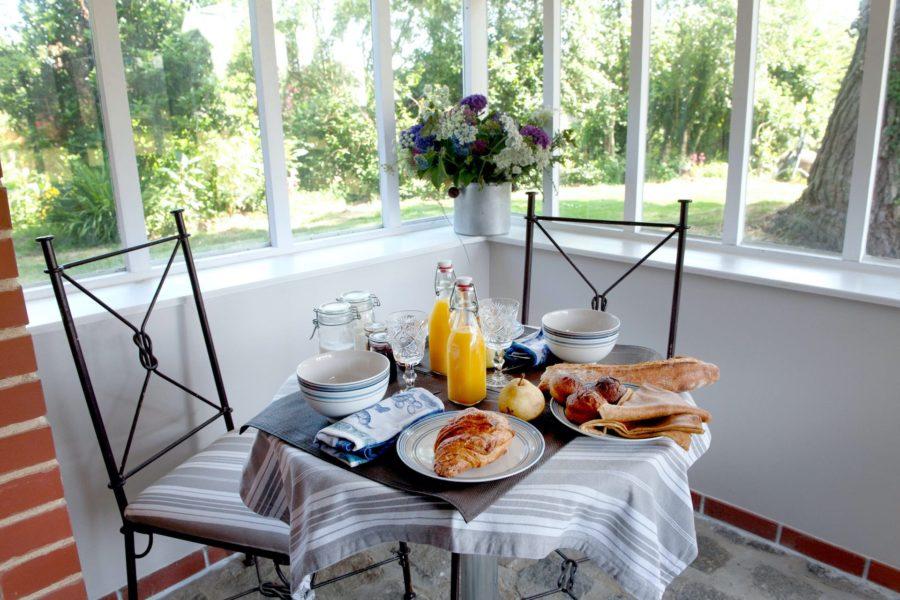 La cabane de Charlotte – Petit-déjeuner