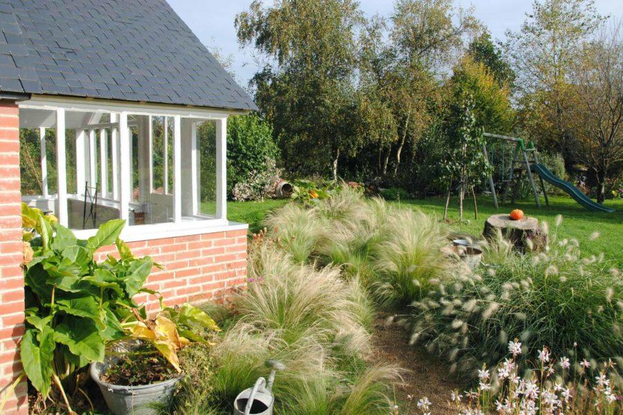 La cabane de Charlotte – Vue sur le jardin