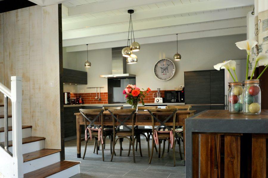 La maison d_Amandine – cuisine équipée