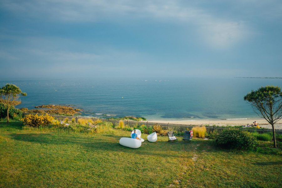 La maison de la plage-vue mer