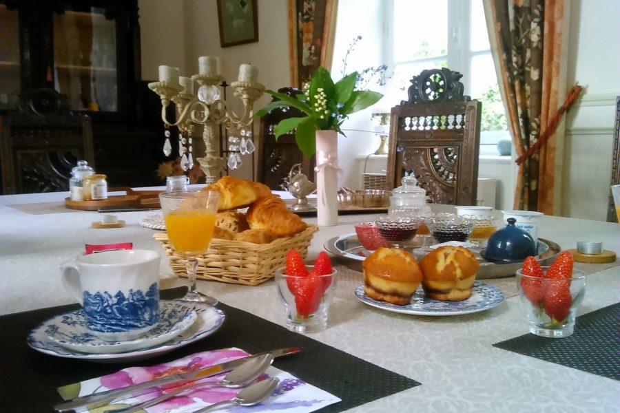 breakfast à Tregont Mab (2)