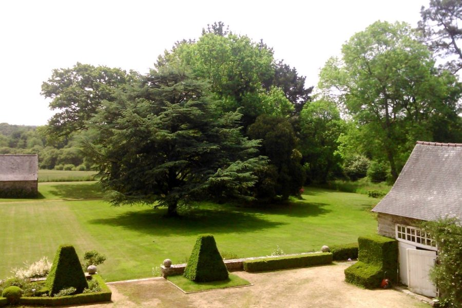jardin tregontmab quimper