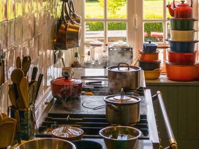 Le coeur de notre maison d'hôtes culinaire