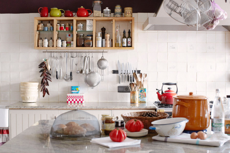 La cuisine, le coeur de notre maison avec sa La Canche