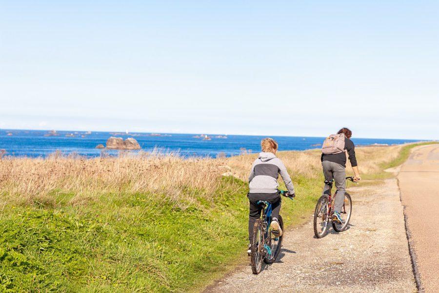 Vélo dans le Finistère