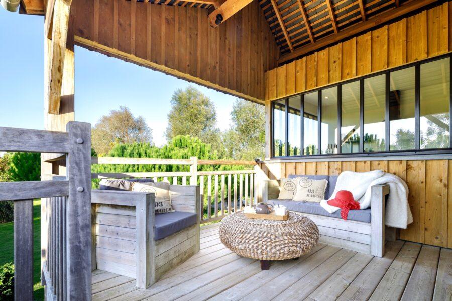 Le Loft Atelier, comme une cabane dans les arbres, le confort en plus!