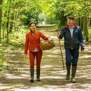 Anouck & Joris, en balade aux champignons
